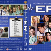 ER - Season 13 (2007) R1 Custom Cover & labels