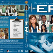 ER – Season 14 (2008) R1 Custom Cover & labels