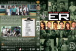 ER – Season 15 (2009) R1 Custom Cover & labels