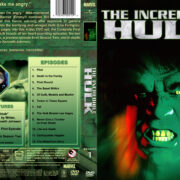 The Incredible Hulk – Season 1 (1978) R1 Custom Cover