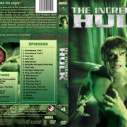 The Incredible Hulk – Season 4 (1981) R1 Custom Cover