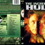 The Incredible Hulk (part of a spanning spine set) – Season 2 (1979) R1 Custom Cover