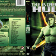 The Incredible Hulk (part of a spanning spine set) – Season 3 (1980) R1 Custom Cover
