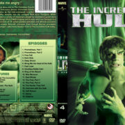 The Incredible Hulk (part of a spanning spine set) – Season 4 (1981) R1 Custom Cover