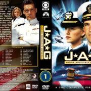 JAG: Judge Advocate General – Season 1 (1996) R1 Custom Cover & labels
