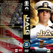 JAG: Judge Advocate General – Season 2 (1997) R1 Custom Cover & labels
