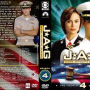 JAG: Judge Advocate General – Season 4 (1999) R1 Custom Cover & labels