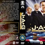 JAG: Judge Advocate General – Season 5 (2000) R1 Custom Cover & labels