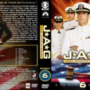 JAG: Judge Advocate General - Season 6 (2001) R1 Custom Cover & labels