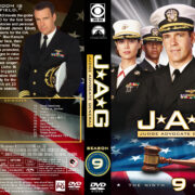 JAG: Judge Advocate General – Season 9 (2004) R1 Custom Cover & labels