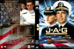 JAG: Judge Advocate General (part of a spanning spine set) – Season 1-10 (1995-2005) R1 Custom Covers