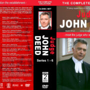 Judge John Deed – The Complete Series (2001-2007) R1 Custom Cover & labels