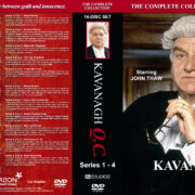 Kavanagh Q.C. - Series 1-4 (1995-1998) R1 Custom Cover & labels