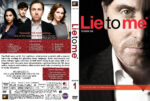 Lie to Me – Season 1 (2009) R1 Custom Cover & labels
