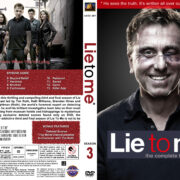 Lie to Me – Season 3 (2011) R1 Custom Cover & labels