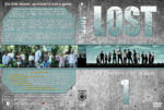 Lost – Season 1 (2004) R1 Custom Cover & labels