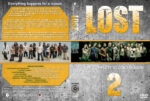Lost – Season 2 (2005) R1 Custom Cover & labels
