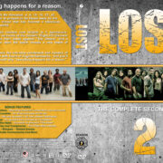Lost - Season 2 (2005) R1 Custom Cover & labels