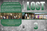 Lost – Season 3 (2006) R1 Custom Cover & labels