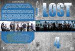 Lost – Season 4 (2008) R1 Custom Cover & labels