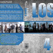 Lost – Season 4 (2008) R1 Custom Cover & labels