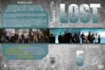 Lost – Season 5 (2009) R1 Custom Cover & labels