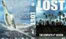 Lost - Season 4 (2001) R1 Custom DVD Cover & labels