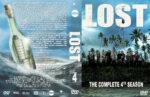 Lost – Season 4 (2001) R1 Custom DVD Cover & labels