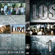 Lost – Seasons 1-6 (2004-2010) R1 Custom Covers