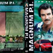 Magnum P.I. – Season 3 (1982) R1 Custom Cover & labels