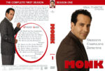 Monk – Season 1 (2002) R1 Custom Cover & labels
