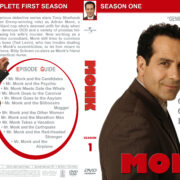 Monk - Season 1 (2002) R1 Custom Cover & labels