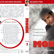 Monk – Seasons 2-4 (2002-2005) R1 Custom Covers