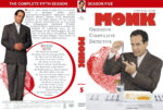 Monk – Season 5 (2006) R1 Custom Cover & labels