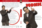 Monk – Season 6 (2007) R1 Custom Cover & labels