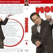 Monk - Season 6 (2007) R1 Custom Cover & labels