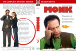 Monk – Season 7 (2008) R1 Custom Cover & labels