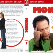 Monk - Season 7 (2008) R1 Custom Cover & labels