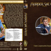 Murder She Wrote - Season 1 (1984) R1 Custom Cover & labels
