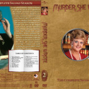 Murder She Wrote - Season 2 (1985) R1 Custom Cover & labels
