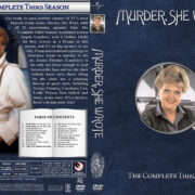 Murder She Wrote - Season 3 (1986) R1 Custom Cover & labels