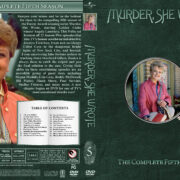 Murder She Wrote - Season 5 (1988) R1 Custom Cover & labels
