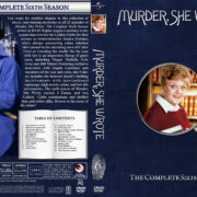 Murder She Wrote - Season 6 (1989) R1 Custom Cover & labels