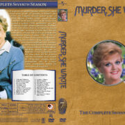 Murder She Wrote – Season 7 (1990) R1 Custom Cover & labels