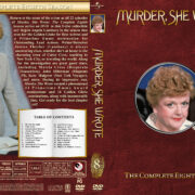 Murder She Wrote - Season 8 (1991) R1 Custom Cover & labels