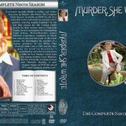 Murder She Wrote - Season 9 (1992) R1 Custom Cover & labels