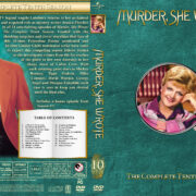 Murder She Wrote - Season 10 (1993) R1 Custom Cover & labels