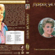 Murder She Wrote - Season 11 (1994) R1 Custom Cover & labels