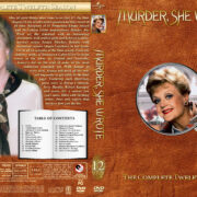 Murder She Wrote – Season 12 (1995) R1 Custom Cover & labels
