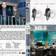 MI-5 - Volume 1 (2002) R1 Custom Cover & labels